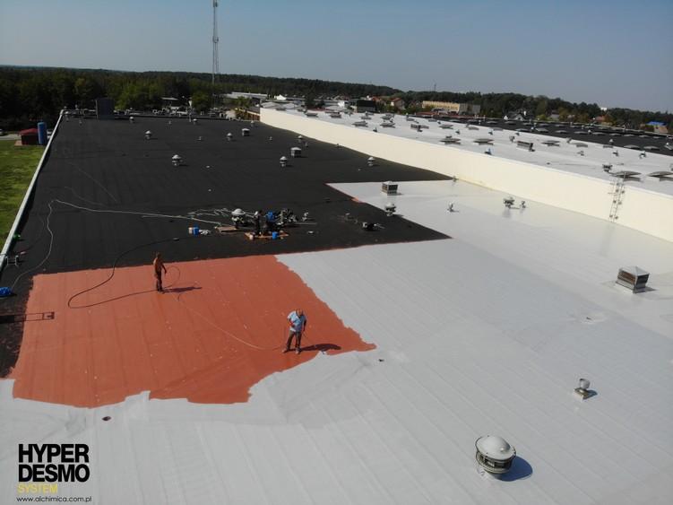 Renowacja dachu przemysłowego - system Hyperdesmo
