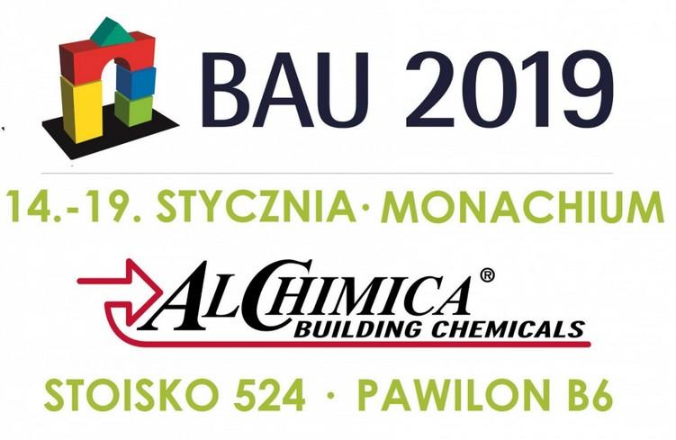 Alchimica na BAU 2019 w Monachium