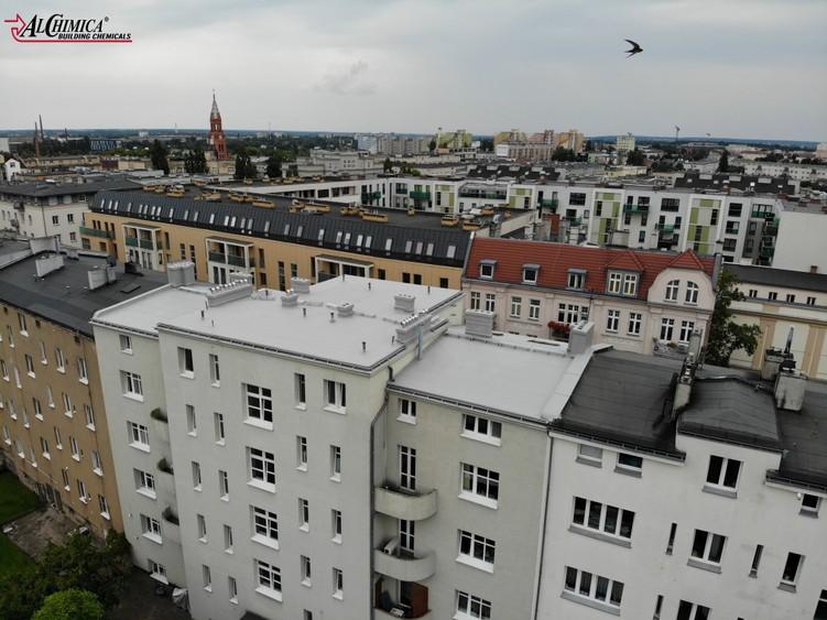 Naprawa dachu z papy - Poznań
