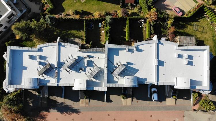 Naprawa dachu z papy w systemie Hyperdesmo