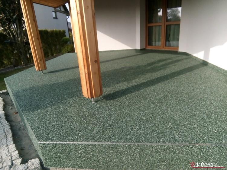 Kamienny dywan - system tarasowy Hyperdesmo