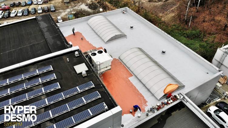 Naprawa dachu z EPDM