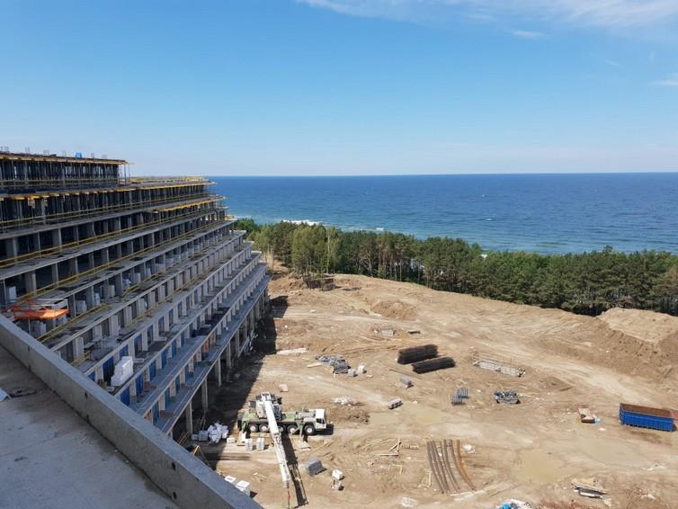 Tarasy hotelowe z izolacją Hyperdesmo