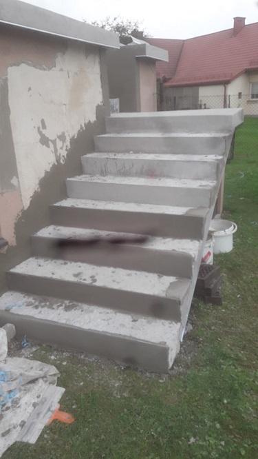 Stan po reprofilacji/naprawie betonu